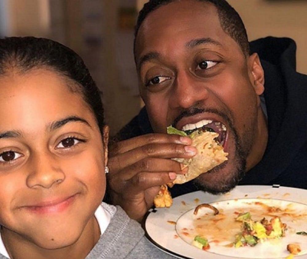 Jaleel White & his daughter Samaya White