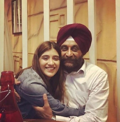 Nimrat Kaur Ahluwalia & her father