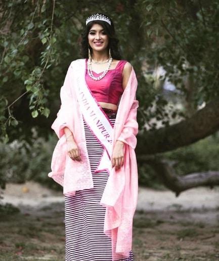 Nimrat Kaur Ahluwalia winner of Miss India Manipur 2018 contest