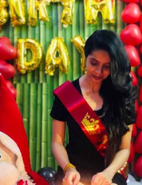 Priyanka Upadhyay Birthday Party